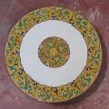 Round  Lava stone Table diameter 110 cm - Enna a Fascia