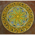 Tavolo Tondo in Pietra Lavica diametro 90 cm - Enna