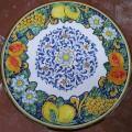Round  Lava stone Table diameter 80 cm - Frutta Blu