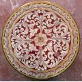Round  Lava stone Table diameter 80 cm - Rubino
