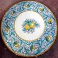 Round  Lava stone Table diameter 60 cm - Seicento Verde