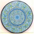 Round  Lava stone Table diameter 150 cm - Turchese